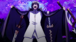 Freed Sellzen (anime) Freed ze skradzionymi Excaliburami.png